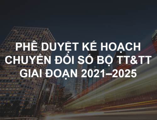 Phê duyệt Kế hoạch chuyển đổi số Bộ TT&TT giai đoạn 2021–2025